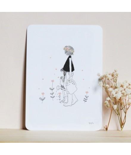 Carte postale Lovely Mummy