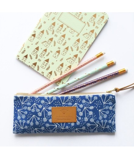 "Trousse ""Little cotton"" - Bleu"