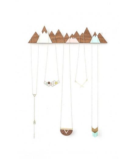 Porte-bijoux à suspendre - Montagnes