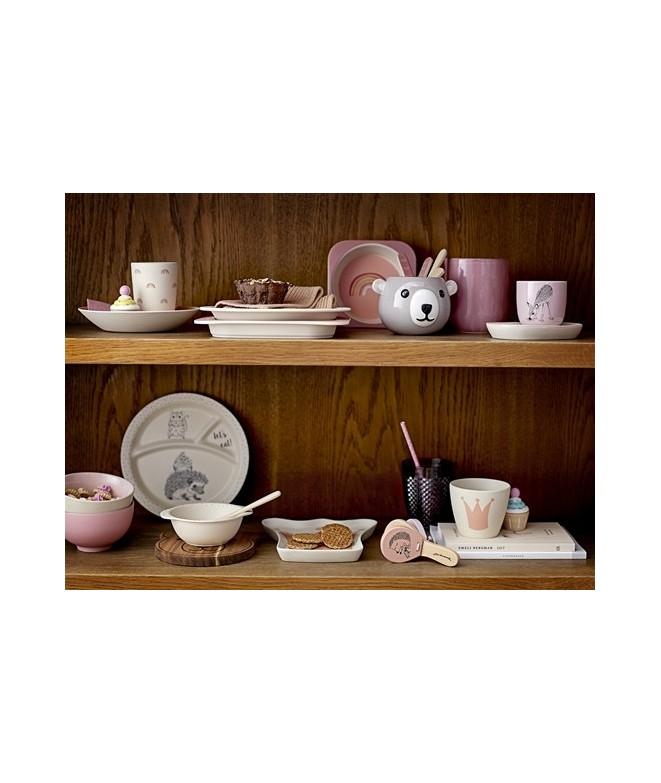 set de vaisselle en bambou arc en ciel bloomingville merci leonie. Black Bedroom Furniture Sets. Home Design Ideas