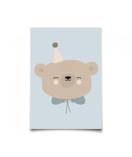 Carte postale Circus bear