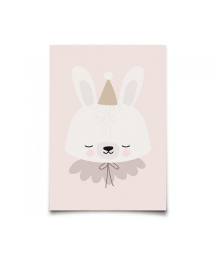 Carte postale Circus bunny
