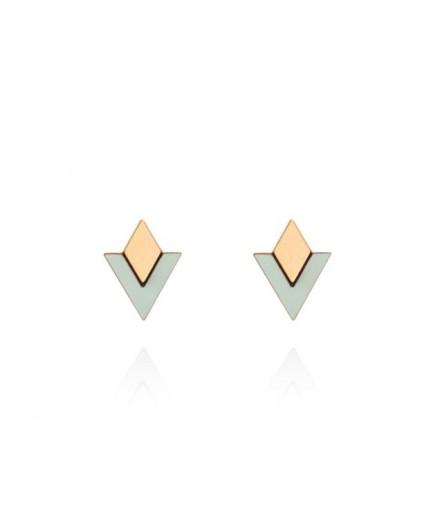 Boucles d'oreilles Arya - Vert