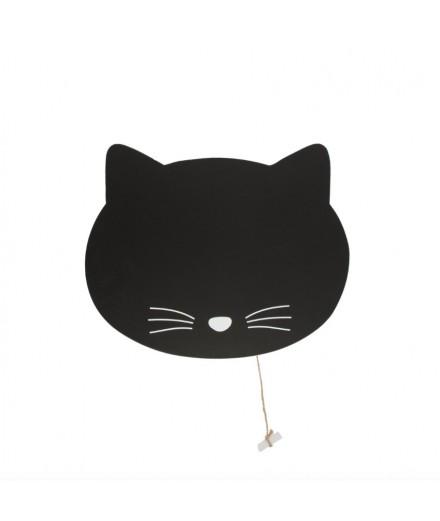 Tableau noir Chat
