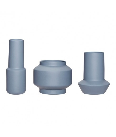 Set de 3 vases  - Navy