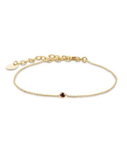 Bracelet Secret - Burgundy