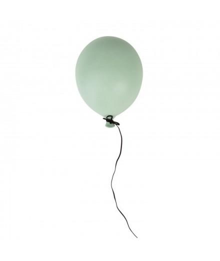 Ballon en céramique à suspendre - vert matte - petit modèle