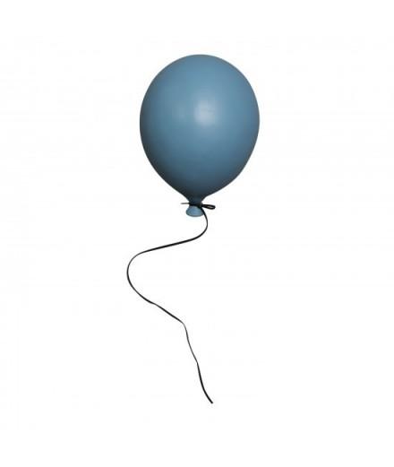 Ballon en céramique à suspendre - bleu matte - petit modèle