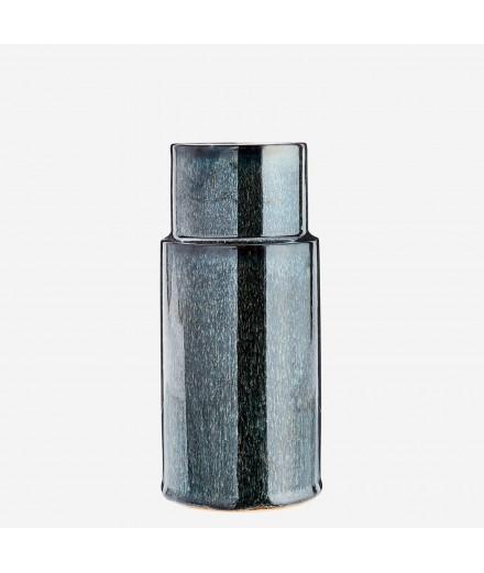Vase bleu profond - Grand