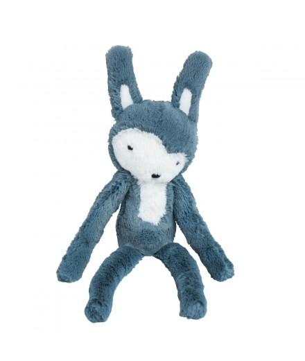 Peluche lapin - bleu