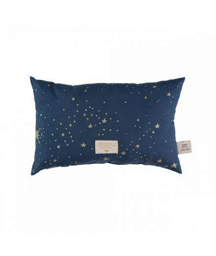 Coussin Laurel - Gold Stella Night blue