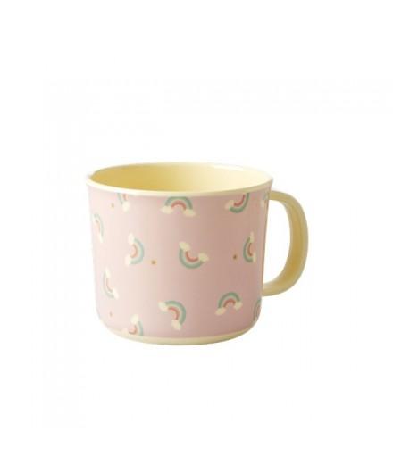 Mug pour enfant en mélamine - Arc-en-ciel
