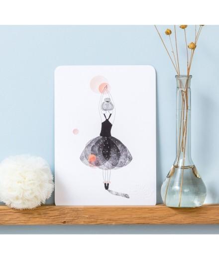 Carte postale Ballerine