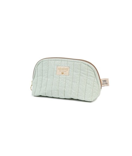 Trousse de toilette Holiday - White bubble Aqua - Taille S