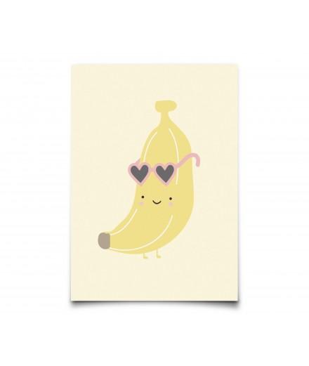 Carte postale Banane