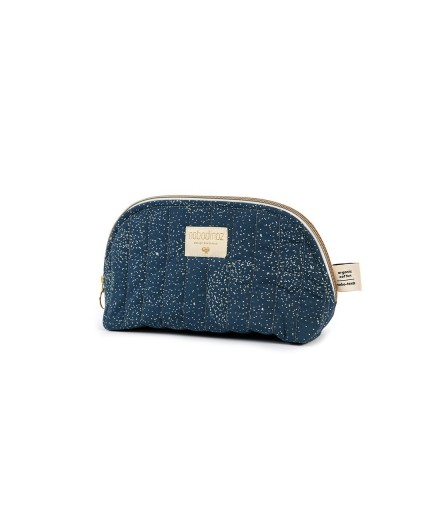 Trousse de toilette Holiday - Gold bubble night blue - Taille L