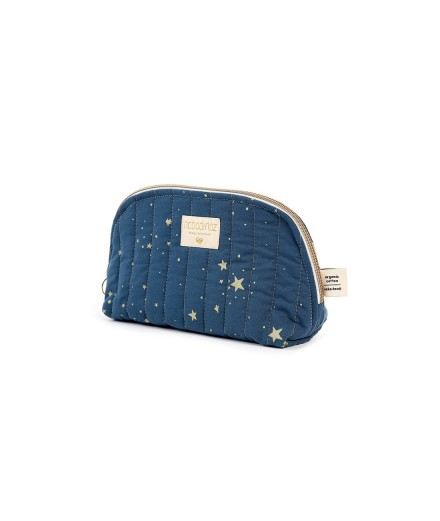Trousse de toilette Holiday - Gold stella Night Blue - Taille S
