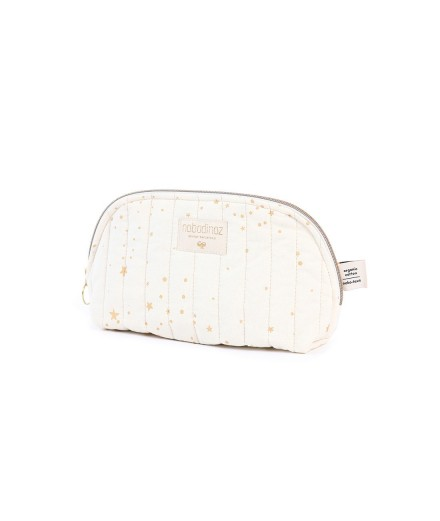 Trousse de toilette Holiday - Gold stella Natural - Taille S