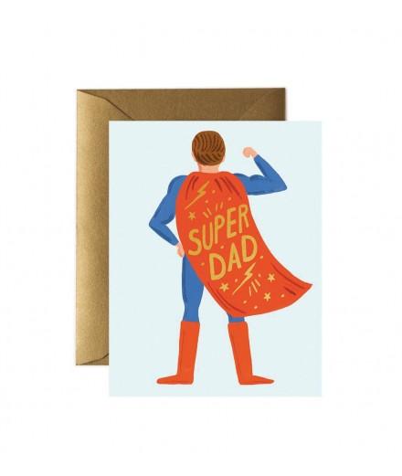 Carte double Super Dad