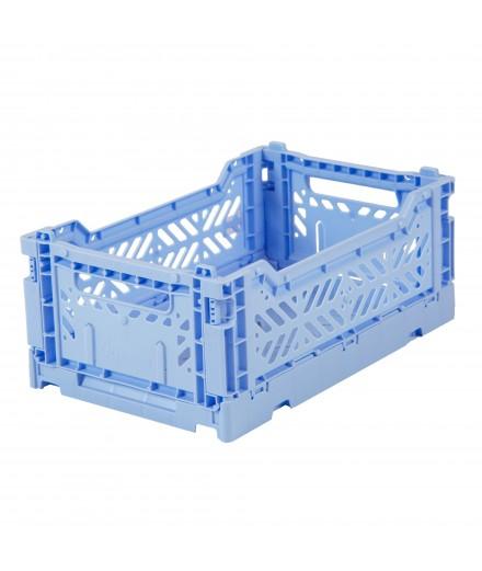 Caisse pliable petit format - Bleu