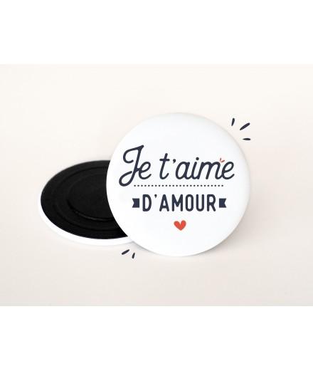 """Magnet """"Je t'aime d'amour"""""""