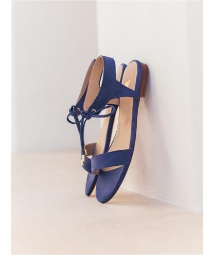 Sandales La Conquise - Bleu égyptien