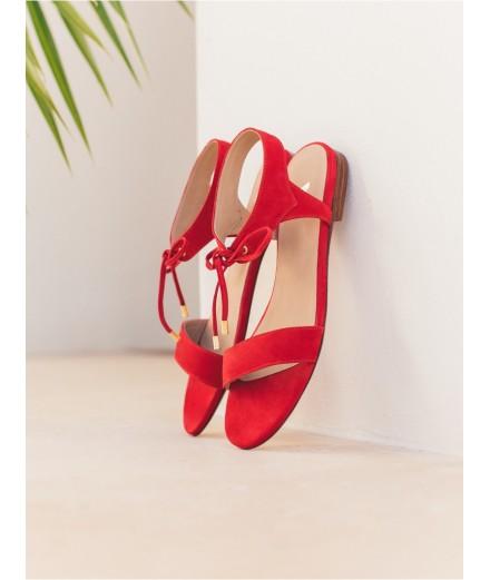 Sandales La Conquise - Rouge Piment