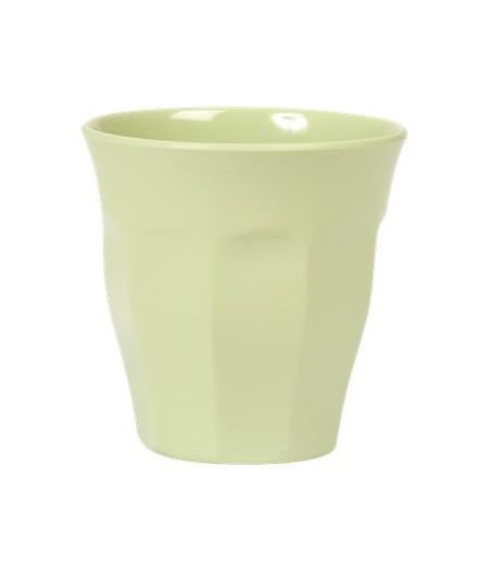 Gobelet médium en mélamine - vert menthe