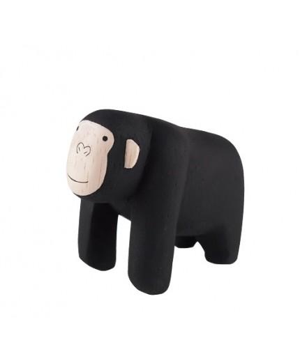 Gorille en bois
