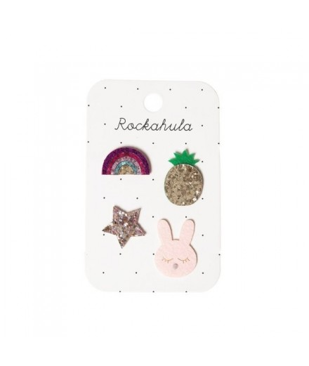 Set pin's paillettes