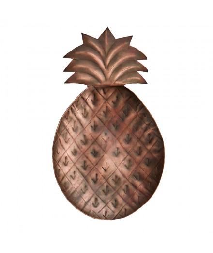 Ananas en métal à suspendre