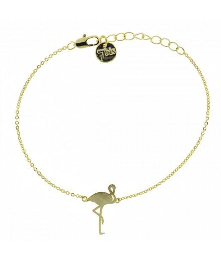 Bracelet flamant