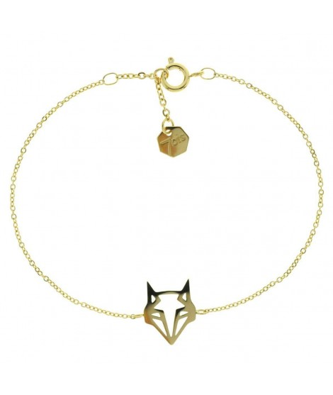 taille 40 0a544 075fb Bracelet renard