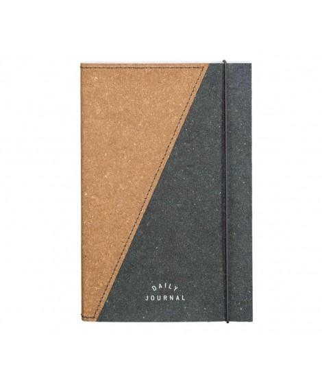 Notebook cuir et papier recyclé