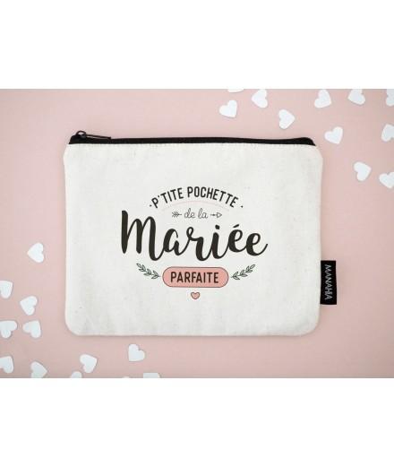 """Pochette """"De la mariée parfaite"""""""