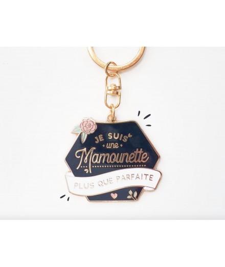 """Porte-clés """"Mamounette plus que parfaite"""""""