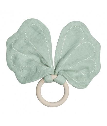 Anneau dentition papillon - Vert