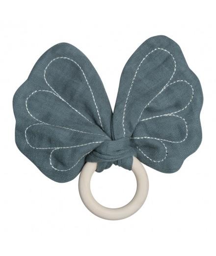 Anneau dentition papillon - Bleu