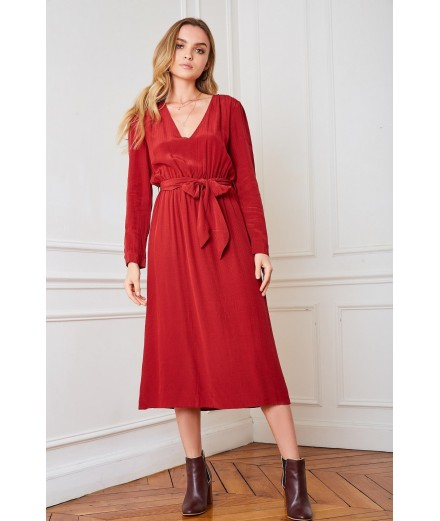Robe Palais Royal - Merlot