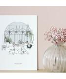 Carte postale Jardin d'hiver