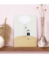 Carte postale Sweet and Cloud