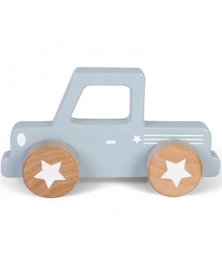 Pickup en bois - Bleu