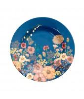 Assiette en mélanine - fleurs