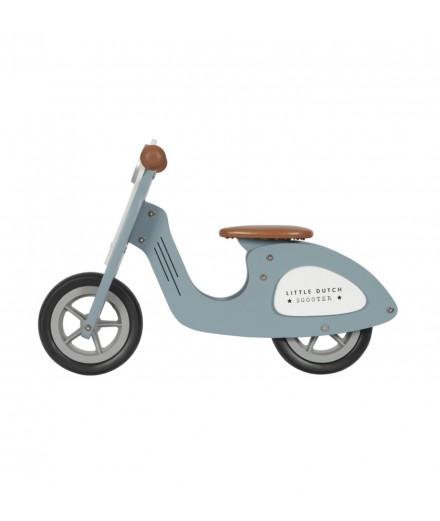 Draisienne Scooter bleu