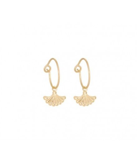 Boucles d'oreilles Little eventails