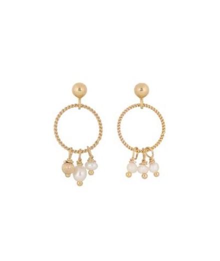 Boucles d'oreilles Inès - Perles d'eau douce