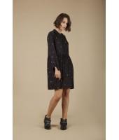 Robe Amandine - Noir
