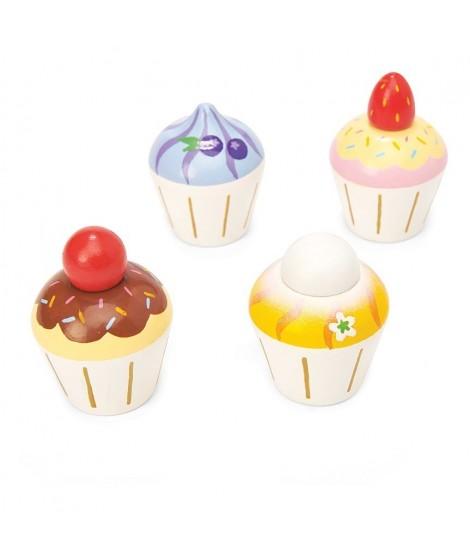Set de cupcakes en bois
